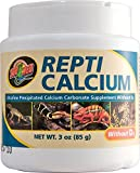 Zoo Med Calcium Without Vitamin D3 Reptile Food, 3-Ounce