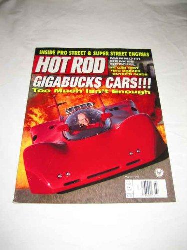 Hot Rod March 1997 Black Thunderbird Model