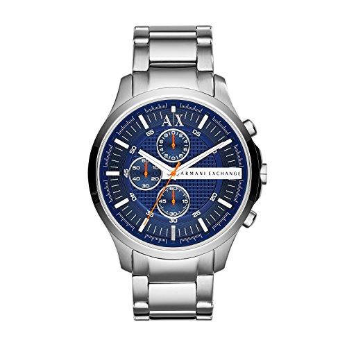 Silver Designer Watch - Armani Exchange Men's AX2155  Silver  Watch