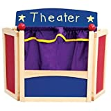 Guidecraft Center Stage Table Top Puppet Theater