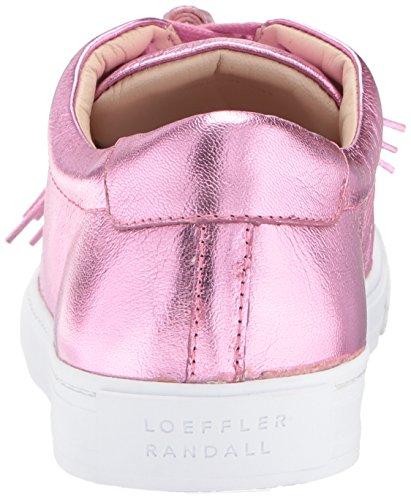 Loeffler Tassels Sneaker Logan Women's Metallic Pink Carnation Foil Randall rvqCr