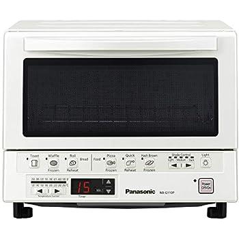 Panasonic PAN-NB-G110PW Flash Xpress Toaster Oven, White