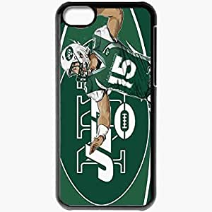 Personalized iPhone 5C Cell phone Case/Cover Skin 14313 tim tebow ny jets by akyanyme d4tn8xc Black by mcsharks