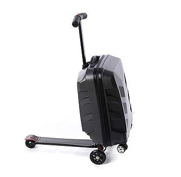 Amazon.com: ELEGENCE-Z - Maleta plegable de 3 ruedas para ...