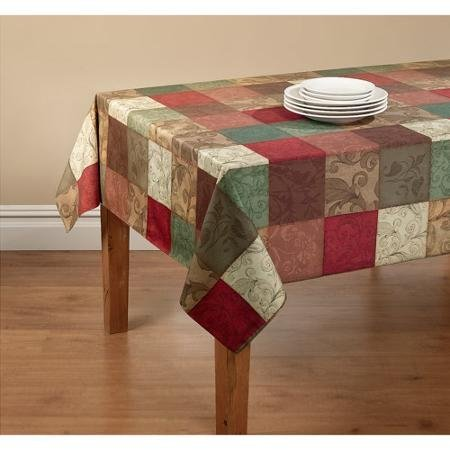 Mainstays Tuscany Kitchen Collection - Fabric Tablecloth for sale  Delivered anywhere in USA