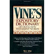 Amazon w e vine books biography blog audiobooks kindle vines expository dictionary of old and new testament words fandeluxe PDF