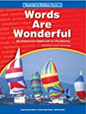 img - for Words Are Wonderful Teacher 2 Grd 4 book / textbook / text book
