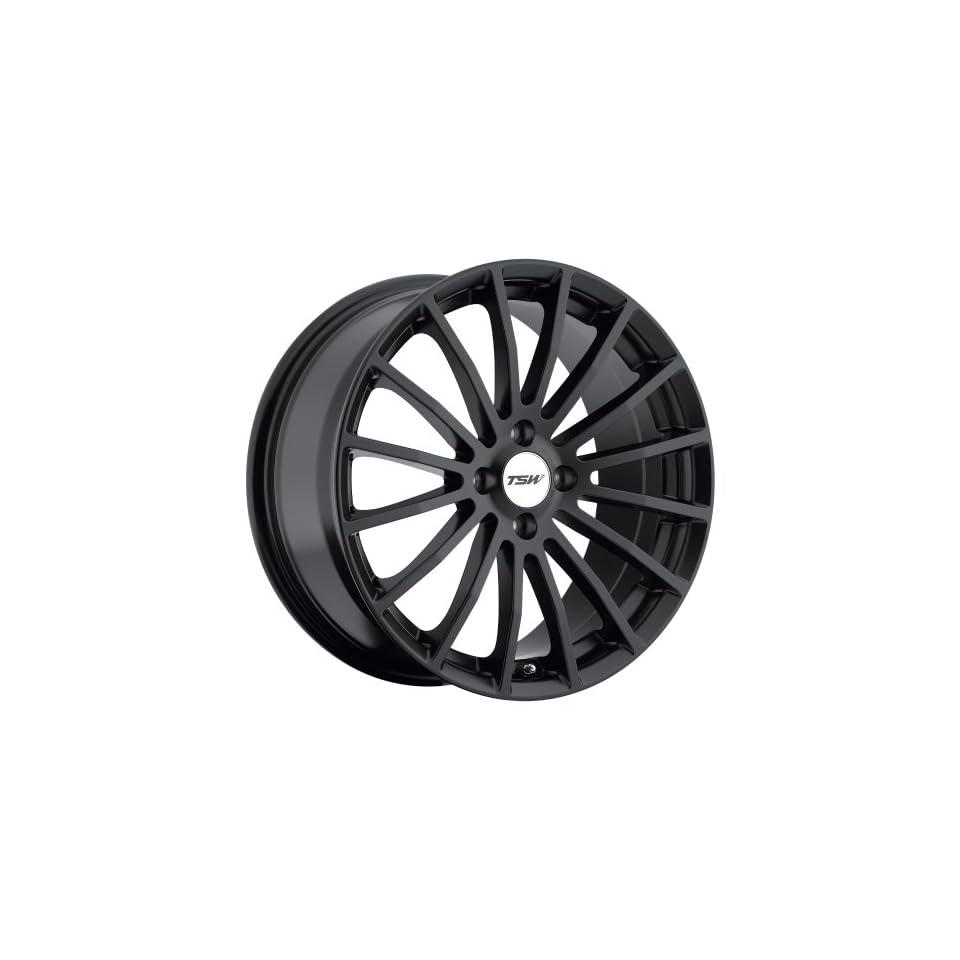 15x6.5 TSW Mallory (Matte Black) Wheels/Rims 4x114.3 (1565MAL404114B76)