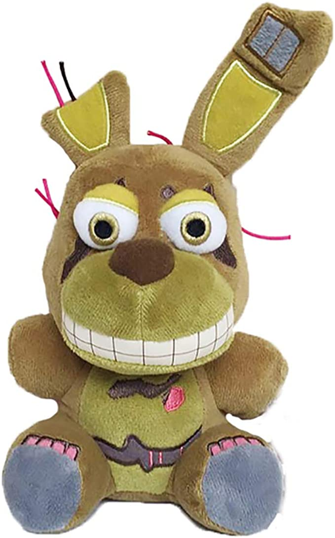 "Five Nights At Freddy's 10"" Springtrap Plush Stuffed Toy New Handmade"