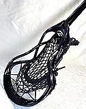 Beast7 Lacrosse Stick All-Black/Ti-Scan Shaft