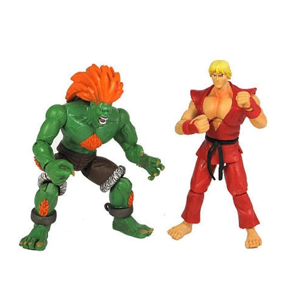 Street Fighter 2 Pack 3.75 in. Ken & Blanca (japan import ...