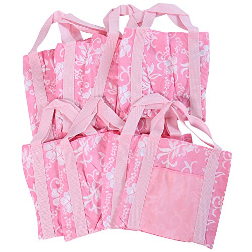 Girls Aloha Luau Hawaiian Birthday Party Favor Bags Lot 8 (Hawaiian Party Dress)