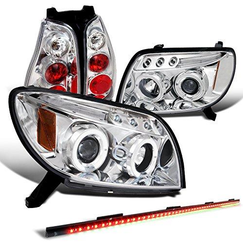 4Runner Chrome Halo Projector Headlights+Tail Lamp+49