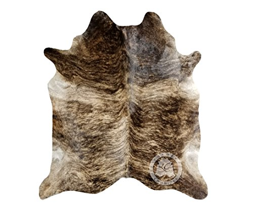Brindle Cowhide Rug - Brindle Cowhide Rug APPROX Size 6ft x 8 ft 180cm x 240 cm - Top Quality