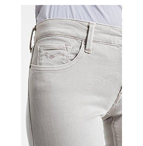 Skinny Jeans Grigio Donna 59 Grey Replay wqa1SYg1