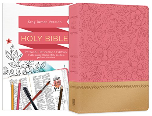 Personal Reflections KJV Bible [Rosegold Bloom] Compiled by Barbour Staff
