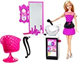 Barbie Malibu Ave Salon with Barbie Doll Playset