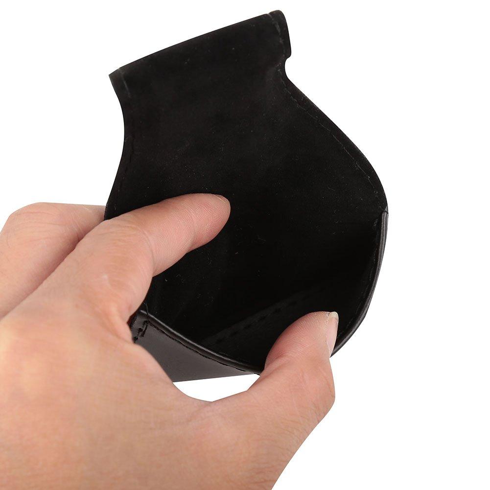 Billard Chalk Bag Billard Chalk Holder Tragbare PU-Tasche Tasche Zubeh/ör Schwarz Fishlor 0