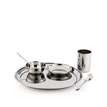 Buy Pigeon Sparkle Lunch Set, 6-Pieces Online at Low Prices in India - Amazon.in