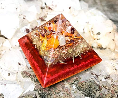 - Orgonite Pyramid to Manifest Abundance