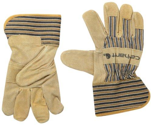 Carhartt Men's Suede Work Glove with Safety Cuff, Brown, XX-Large ()