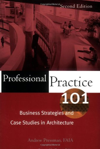 Pdf Transportation Professional Practice 101: Business Strategies and Case Studies in Architecture