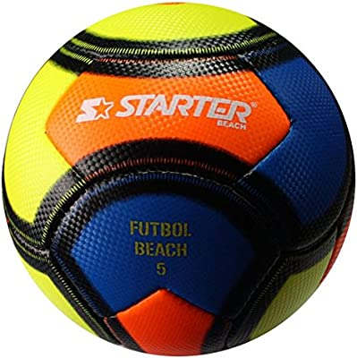Starter 97050.Uni Balón Futbol Playa, Blanco, S: Amazon.es ...