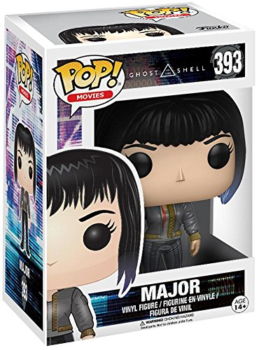 Funko- Figura de Ghost in The Shell-Major in Bomber Jacket, Multicolor, 13341