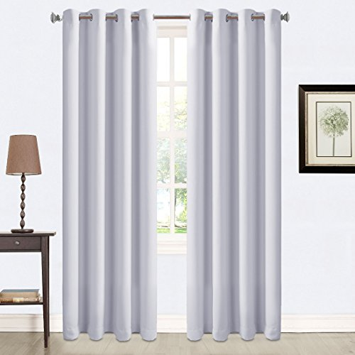 Balichun 2 Panles Blackout Curtains Thermal Insulated