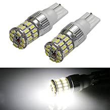 iJDMTOY (2) 360-Degree Illuminating 36-SMD 168 194 912 920 921 T10 LED Bulbs For Parking Lights or Backup Lights