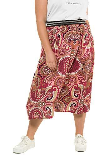 Studio Untold Femme Grandes Tailles Jupe midi 718106 Multicolore