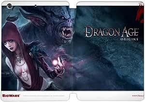 Cubierta de cuero y caja de la PC funda / soporte para funda de Apple iPad Mini 4 funda Con Magnetic reposo automático Función de despertador DIY por Dragon Age Origins X1R7Qy4N1Lg
