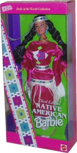 Native American Barbie - Third Edition - Dolls of the World - Doll Native American