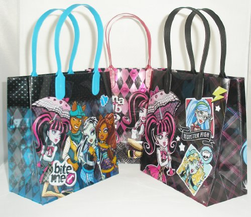 Mattel Monster High Party Favor Goodie Gift Bag - 6