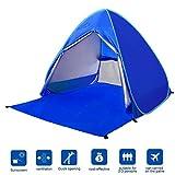 BATTOP Automatic Pop Up Beach Tent Sun Shelter Cabana 2-3...