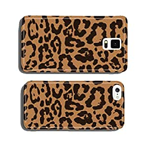 Leopard seamless pattern design, vector background cell phone cover case iPhone6