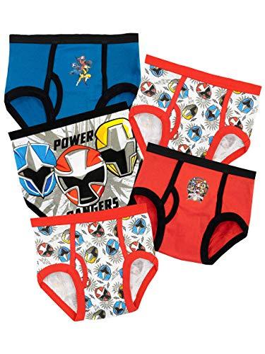 Power Rangers Boys' Underwear Size 6 -