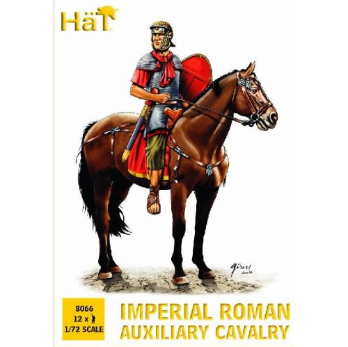 (Historical Plastic Figures 1:72 Hat Industries Imperial Roman Auxiliaries, Cavalry)