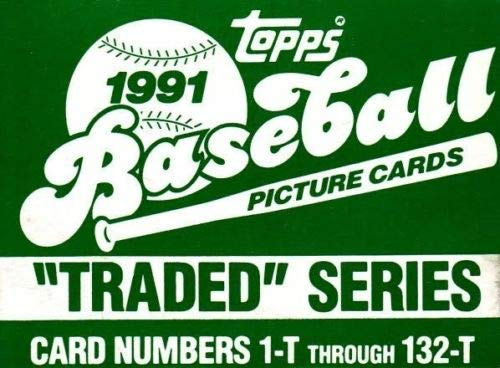 1991 Topps Baseball Traded Set (Green Box) -