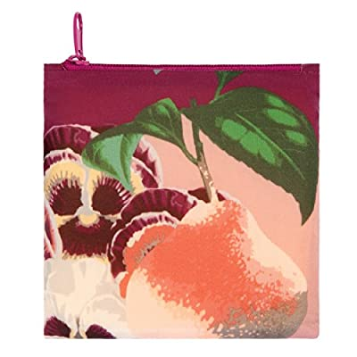 LOQI Botany Pear Reusable Shopping Bag, Multicolor