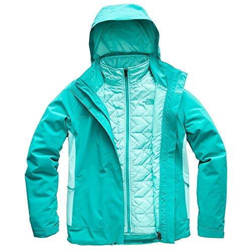 The North Face Women's Carto Triclimate Jacket - Kokomo Green & Mint Blue - XS