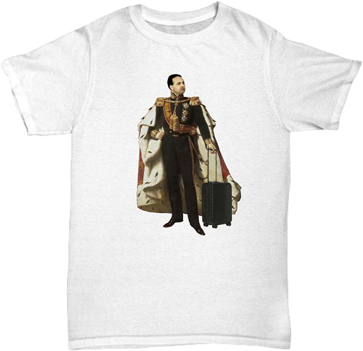 B07TZMLR52 The King of The Airport T-Shirt 516iMjter2L