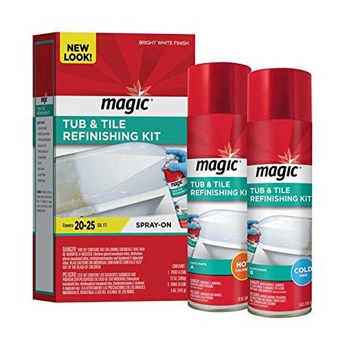 MAGIC Tub & Tile Refinishing Kit