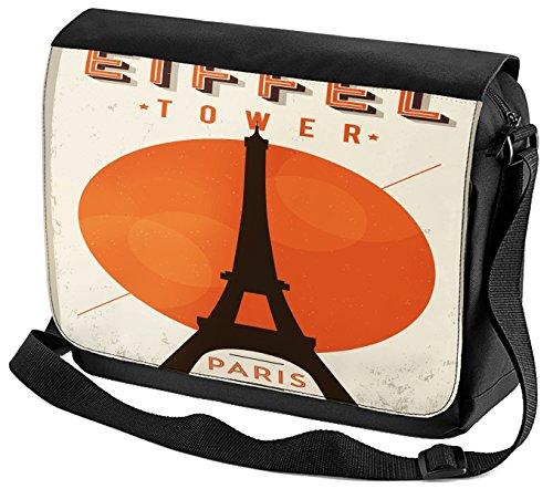 Umhänge Schulter Tasche Fernweh Stadt Paris bedruckt oRxAs