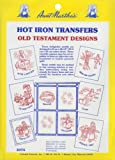 Aunt Martha's Old Testament Motif Iron On Transfer Pattern Collection