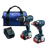 Bosch CLPK251-181 18V 2 Tool Combo Kit with 1/4