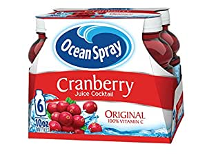Ocean Spray Cranberry Juice Cocktail, 10 Ounce(Pack of 6)
