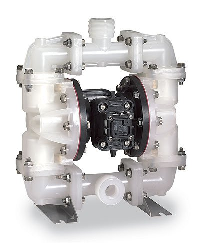 - Sandpiper PB.25,TT3PP. Air-Powered Double-Diaphragm PP Pump, PTFE; 4 GPM