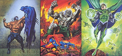 DC VILLAINS 1995 SKYBOX COMPLETE VILLAINS ATTACK EMBOSSED