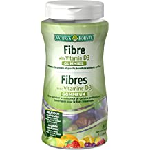 Nature's Bounty Fibre with Omega-3 Gummies, 50 Count